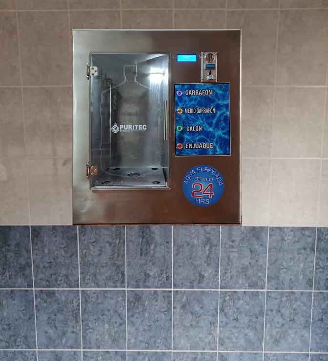 despachadro de agua autoservicio