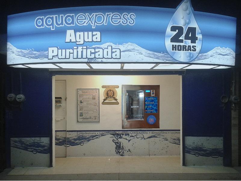purificadora de agua automatica 24 horas